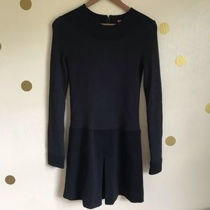 BCBG Black Dress. Long sleeve. Small.